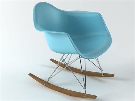eames plastic armchair rar eames plastic armchair rar 3d model vitra