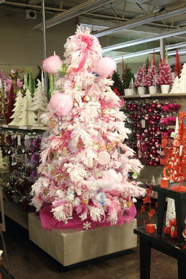 jeffrey alan christmas trees trees trees and pink on