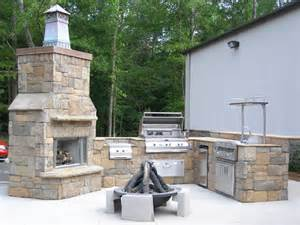 Outdoor Fireplace Houston - houston summer kitchens with outdoor fireplace