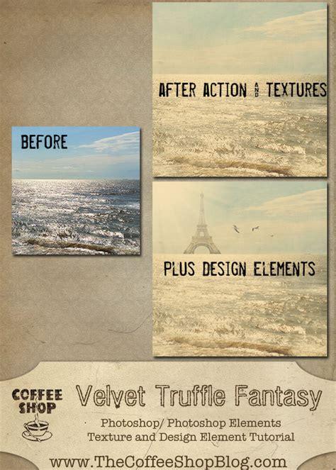 design elements tutorial the coffeeshop blog coffeeshop velvet truffle tutorial