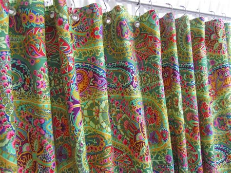Bright Colored Shower Curtains Shower Curtains Bright Colors