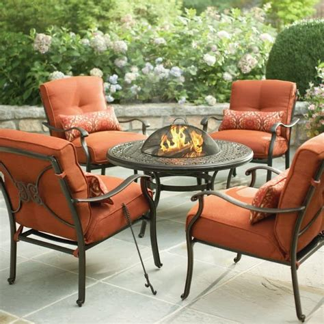 outdoor patio furniture with pit hton bay pit selections for indoor and outdoor