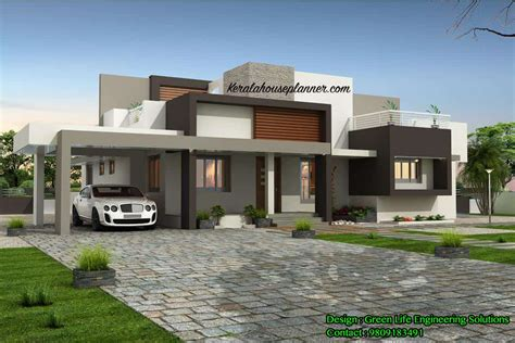 Kerala Home Design Below 1500 Sq Feet contemporary kerala house design at 1955 sq ft idukki