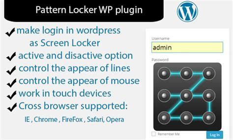 pattern maker plugin pattern locker wp plugin plugins codegrape