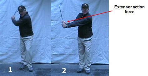 hand action in the golf swing how to move the arms