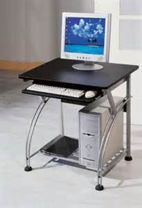 Small Computer Desk With Black Finish Office Furniture Standing Desk Small Computer Desk With