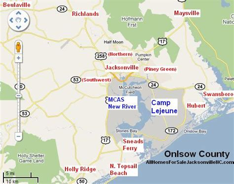 boats for sale in onslow county nc jacksonville nc map