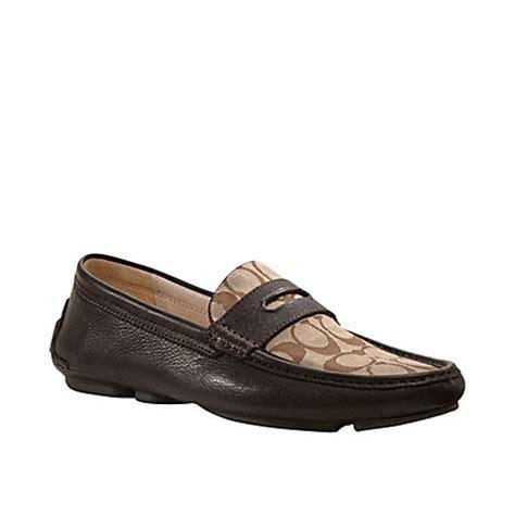 coach signature loafers coach q907 neal signature loafer 3256 coach