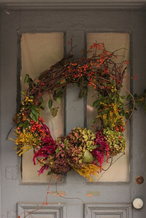 Wreaths In Windows Inspiration Rustic Autumn Wreath Fall And Pinterest Pumpkins Autumn Wreaths And