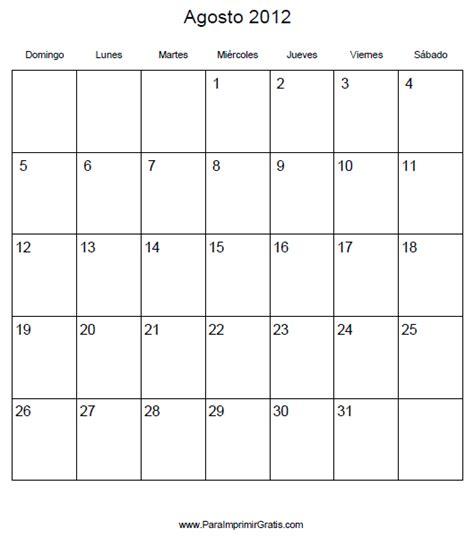 calendario del mes de diciembre 2012 y enero 2013 calendario agosto 2012 para imprimir gratis