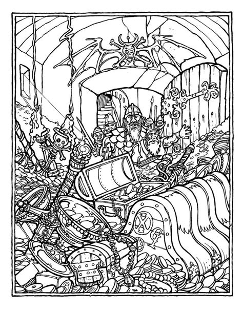 advanced coloring pages dragons greg irons the official advanced dungeons and dragons