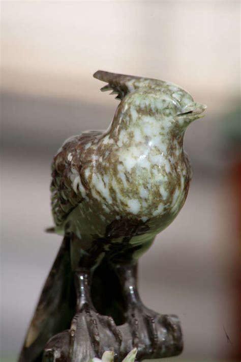 Black Carved Jade Bird carved jade bird at 1stdibs