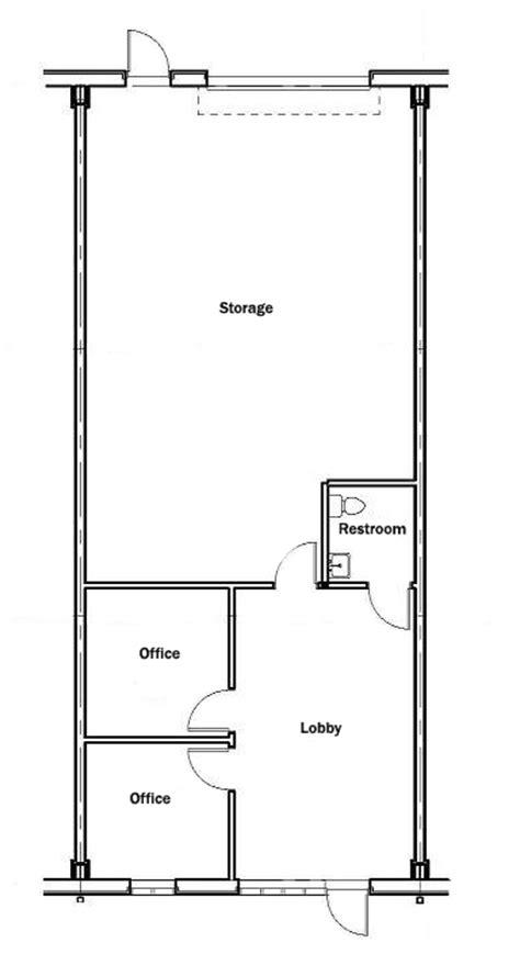 Sle Units 1500 Square Foot Office Floor Plan