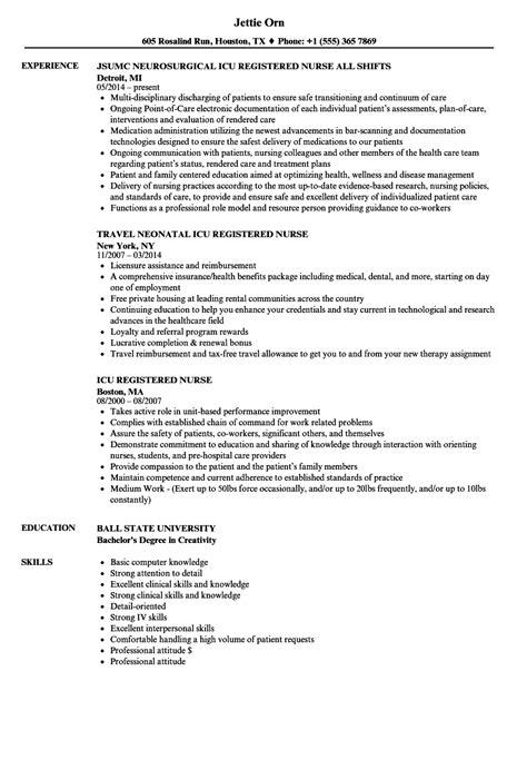 sample resume for nurses suiteblounge com