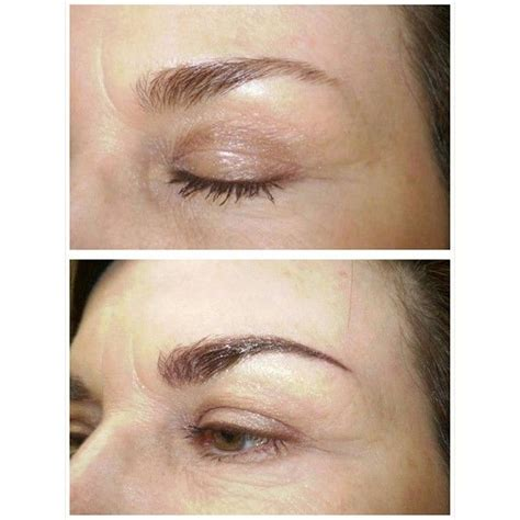 eyebrow tattoo after scabbing tattoos eyebrow pinterest