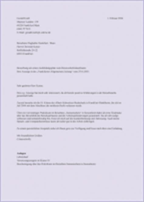 Anschreiben Bewerbung Um Ausbildungsplatz Die Bewerbung Der Branche Anpassen Ellviva De