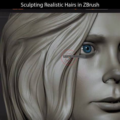 zbrush lace tutorial sculpting realistic hairs in zbrush video tutorial cg elves