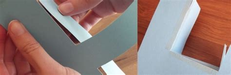 How To Make 3d Paper Letters - how to make a 3d letter of paper