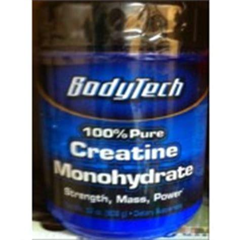 0 calorie creatine bodytech 100 creatine monohydrate dietary supplement