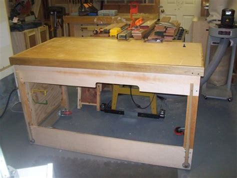 shop improvements  tablesaw workbench  wood