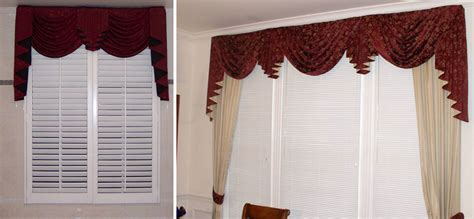 Formal Draperies Custom Window Sconces I Swag Curtains I Cascades Windows