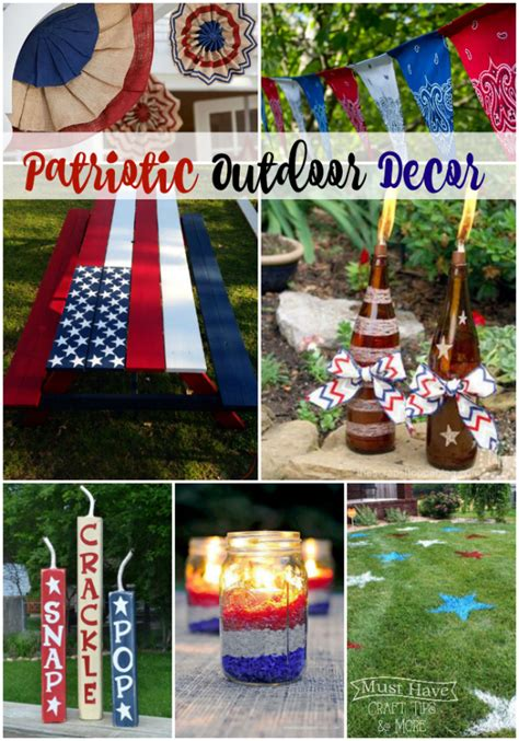 Patriotic Garden Decor A Glimpse Inside Mhct M Patriotic Outdoor Decor