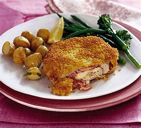 Golden Cordon Bleu pork cordon bleu recipe food