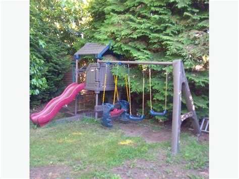 tikes swing set tikes endless adventures swingset saanich