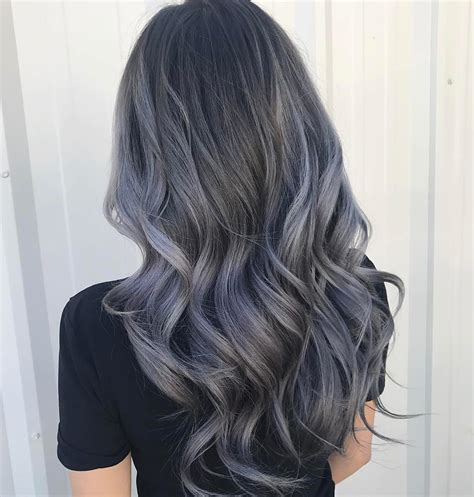 charcoal hair color charcoal hair the new low key trend on instagram