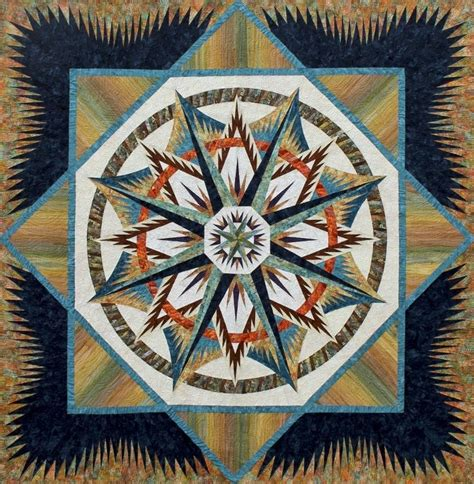 Mariners Compass Quilt Pattern by Mariner S Compass Quiltworx Quilts