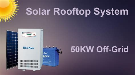 solar system requirements solar rooftop system 50kw grid