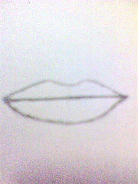 tutorial menggambar hidung manusia trik menggambar bibir dengan pensil aqlam 20