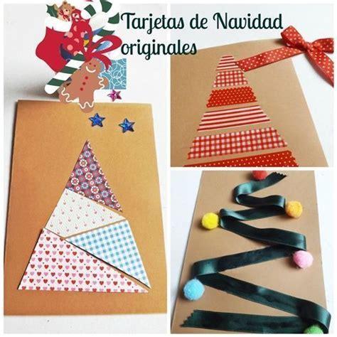 imagenes tarjetas originales diy 3 tarjetas de navidad originales hechas a mano