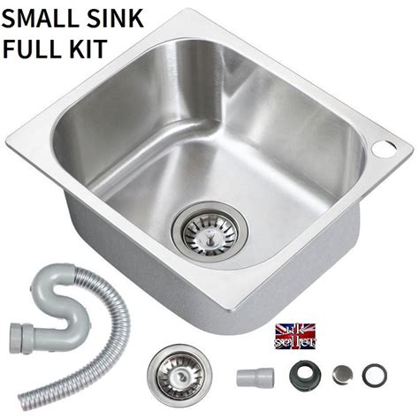 motorhome small design stainless steel kitchen sink tidy