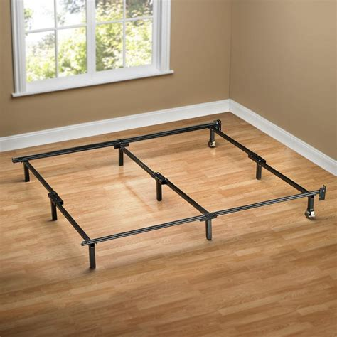 Sleep Revolution Olb Sbf W 07k Compack Bed Frame With Bed Frames With Wheels