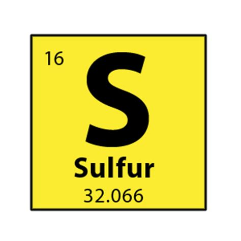 Periodic Table Sulfur by Rocket 90 Galaxy Sulfur