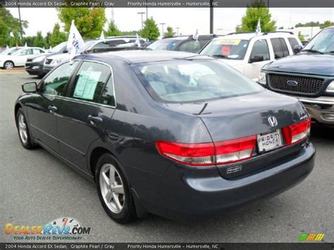 2004 honda accord gray 2004 honda accord ex sedan graphite pearl gray photo 2
