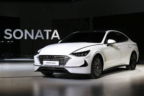 2020 Hyundai Sonata Hybrid hyundai jumps big apple debuting new sonata in seoul