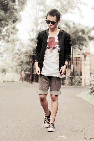 Famo Jacket Black s black famo jackets white ts shirts black sneakers