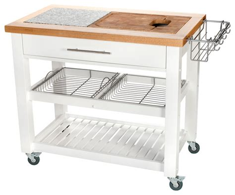 pro chef food prep station contemporary kitchen
