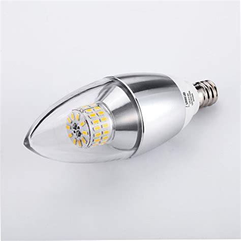 led light bulbs 60 watt equivalent pack of 3 174 lohas dimmable led candelabra bulb 6 watt