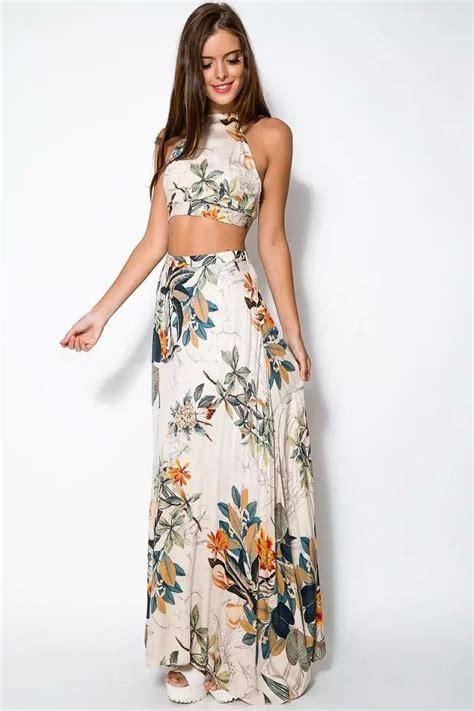 pallazo etnik set floral crop top maxi skirt sets this site my