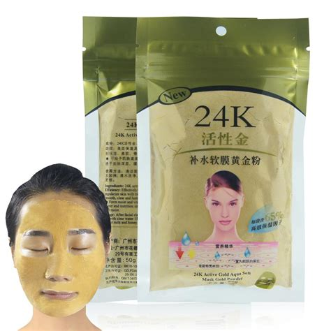 Skincare Whitening Collagen Mask new 24k gold collagen active mask powder skin