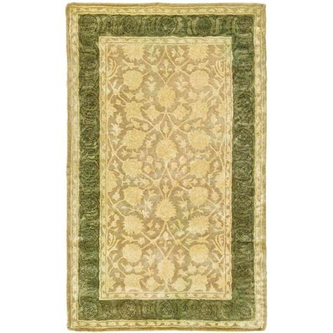 3 x 5 area rugs safavieh silk road ivory 3 ft x 5 ft area rug skr212a 3 the home depot