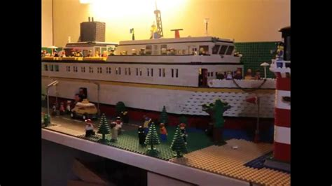 lego boat in motion making a lego ship in stop motion 2 youtube