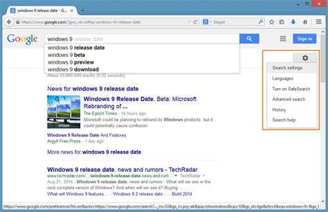 Open Search How To Make Always Open Search Results In New Tab Page