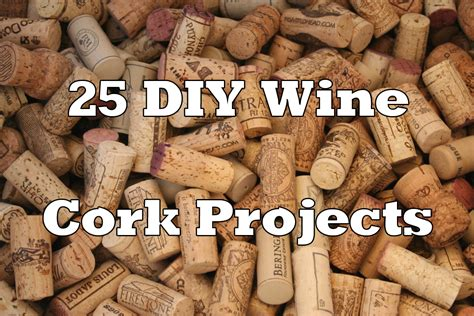craft projects with corks wine cork crafts home design and decor reviews