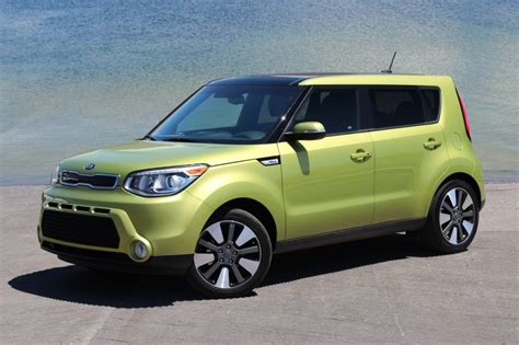 Kia Soul 2014 Green 2014 Kia Soul Road Test