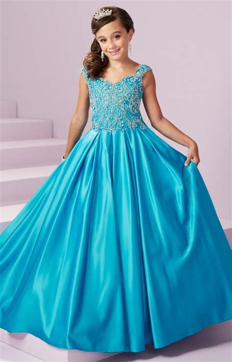 tiffany princess  corset  satin ball gown