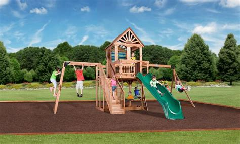leisure time products swing set instructions oceanview wooden swing set playsets backyard discovery